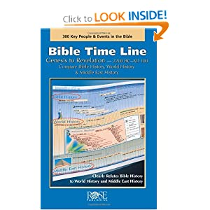 Bible Time Line: Genesis to Revelation at a Glance Rose Publishing