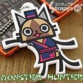 【MONSTER HUNTER】モンスターハンターおまとめイヤホンコードボールチェーン(キッチンアイルー板前スーツ)MH-OE-KI