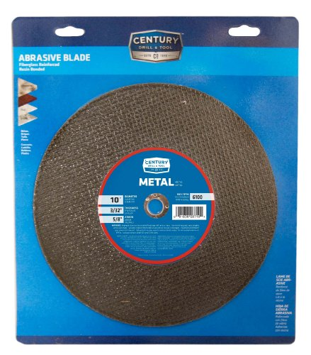 Century Drill and Tool 8610 Masonry Abrasive Saw Blade, 10-Inch