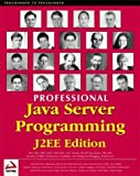 img - for Professional Java Server Programming J2EE Edition by Subrahmanyam Allamaraju (2000-09-04) book / textbook / text book