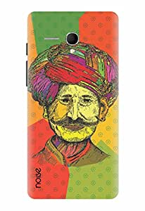 Noise Colored Turban Man Printed Cover for Panasonic P65 Flash
