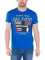Giorgio Di Mare Camiseta Manga Corta (Azul Royal)