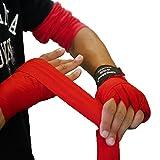 king2ring ボクシング バンテージ グローブ キックボクシング 格闘技 用 収縮 (幅5cm 長さ3.8m)