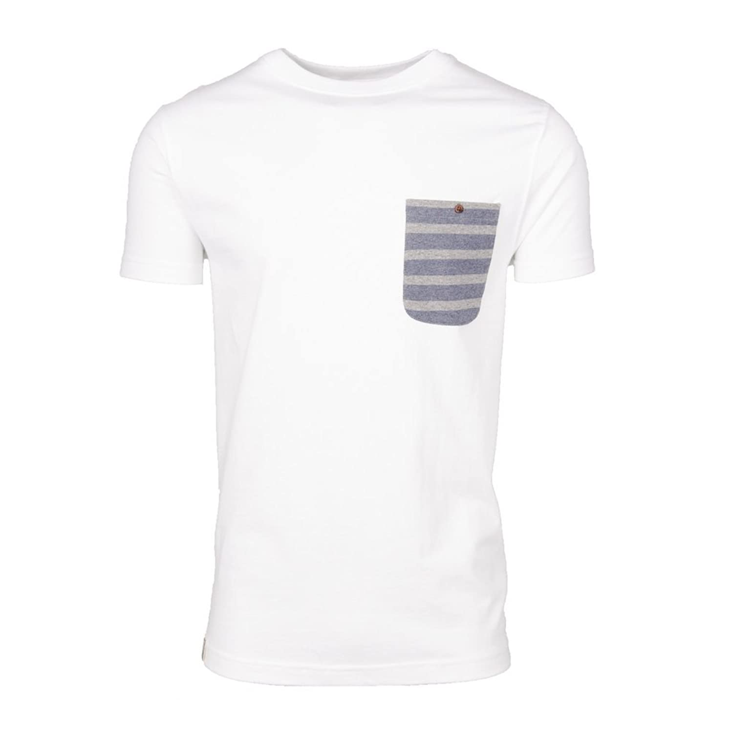 Wemoto Blake T-Shirt in White Heather  цена и фото
