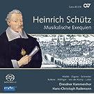 Sch�tz : Musikalische Exequien. Mields, Schneider, Kobow, Rademann.