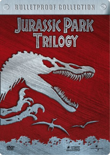 Jurassic Park Trilogy - Bulletproof Collection (3 DVDs im Steelbook)