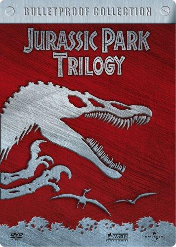 Jurassic Park Trilogy - Bulletproof Collection (3 DVDs im Steelbook)