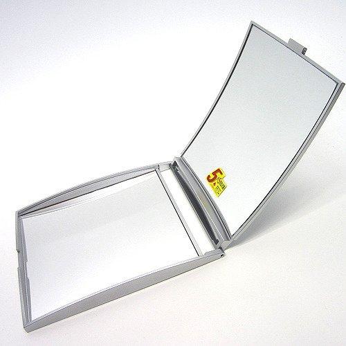 5倍拡大鏡付コンパクト M シルバー