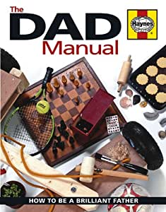 Haynes Book Dad Manual How to be a brilliant father Including an AA Microfibre Magic Mitt