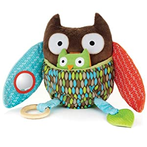 Skip Hop Hug and Hide Activity Toy, Owl