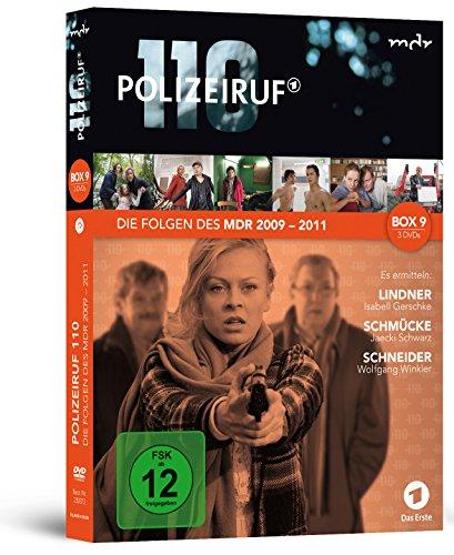 Polizeiruf 110 - MDR Box 9 [3 DVDs]