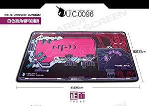 MOBILE SUIT GUNDAM SEED RX-O UNICORN GUNDAM Red big mouse pad Cosplay Limited