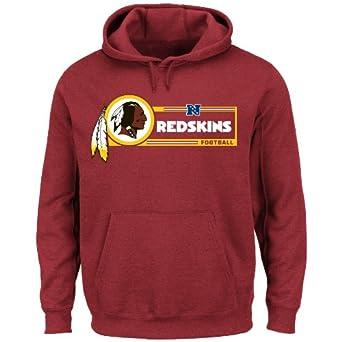 NFL Mens Washington Redskins Big & Tall Critical Vic VII Hoodie by NFL