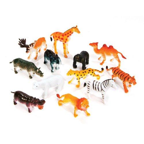 12 Little Zoo Animals