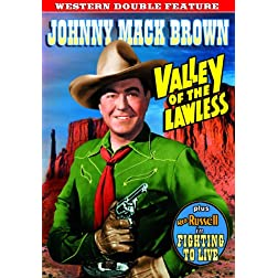 Western Double Feature: Valley of the Lawless (1936) / Fighting to Live (1934)
