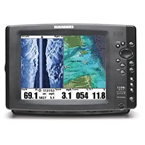 Humminbird 407990-1 1198c SI Combo Fishfinder and GPS by Humminbird