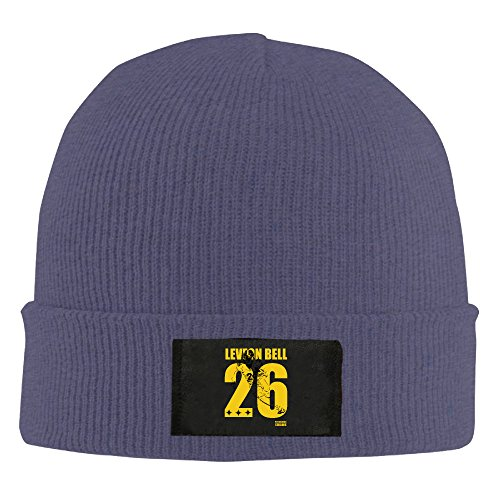 Amone Le'Veon Bell-Pittsburgh #26 Steelers Winter Knitting Wool Warm Hat Navy (Nike Shoes Ninja Turtles compare prices)