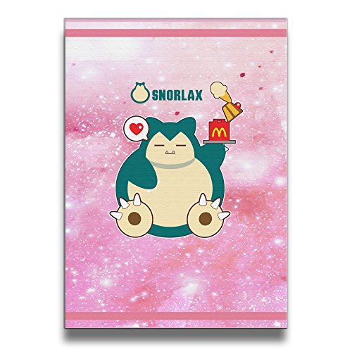 LALayton Hungry Snorlax Hungry Snorlax Frameless Art Picture Frame Wood Prints One Size (Pokemon Omega Ruby Poster compare prices)