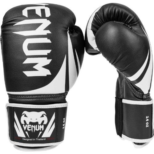 Venum Erwachsene Boxhandschuhe Challenger 2.0, Black, 12 oz, EU-0661