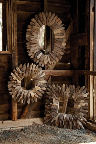 Large Bathroom S Mirrors Choice Of Ornate Driftwood And