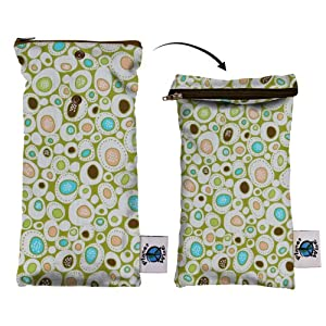 Planet Wise Wipe Pouch, River Rock