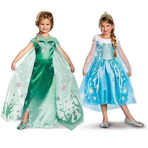 Frozen Fever Elsa Deluxe Child Costume Kit Large