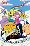 "Adventure Time With Finn & Jake - TV Show Poster (Clouds) (Size: 24"" x 36"")"