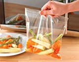 Pack of 40 Microwave Steaming Bags Quick Steam Cook Kitchen Cookware Accessories