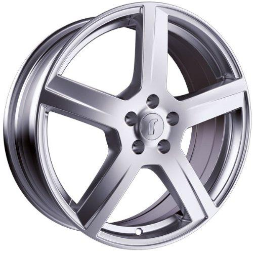 1 x Rondell Design 0223 in 7,0 x 17 ET 35 LZ/LK 4 x 98 Farbe Silber lackiert für Fiat 500 Abarth /-C Typ 312