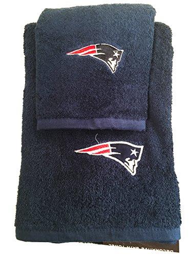 nfl new patriots 6pc bathroom accessories set home