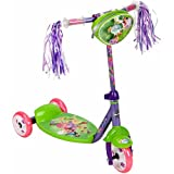 GIRLS Huffy Disney Fairies 3-Wheel Preschool Scooter
