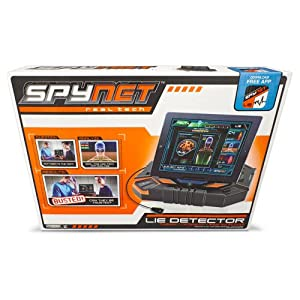 spy gear lie detector manual