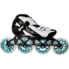 Vanilla Spyder Inline Speed Skates 4x110mm Wheels Size 5-13 by Skate Out Loud