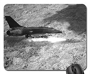 Amazon.com : plane, military, F100 Super Sabre Mouse Pad, Mousepad (10