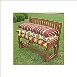 Blazing Needles Solid 4' Patio Bench/Swing Cushion - at Sears.com