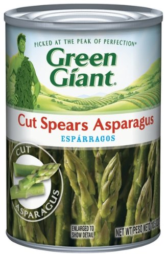 Green Giant Cut Asparagus Spears, 10.5-Ounce (Pack of 6)