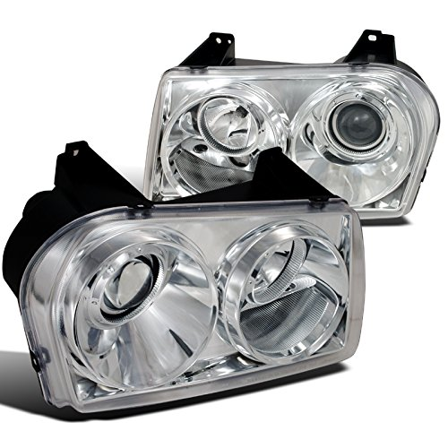 Chrysler 300 Touring Limited Lx S Base, Chrome Clear Projector Headlights