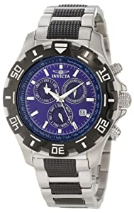 f08b370ec Buy Invicta 6408 Men's Specialty Python Blue Dial Two Tone Stainless Steel  Bracelet Chronograph Watch from