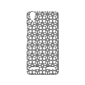 BLUEDIO Designer 3D Printed Back case cover for Lenovo A6000 / A6000 + - G0663