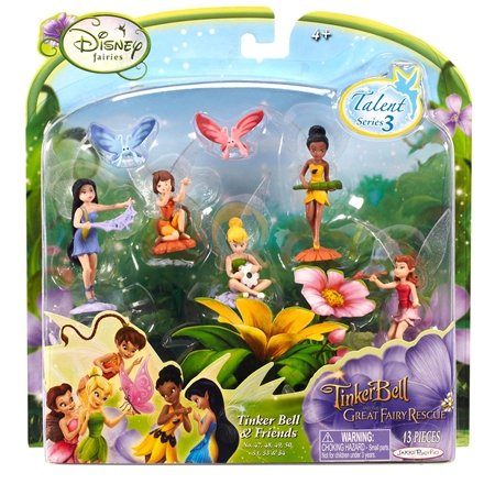 ... TinkerBell Great Fairy Rescue - TinkerBell and Friends Serie Talento-3