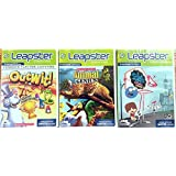 Leap Frog Leapster Learning Game 3 Pack: Scholastic Animal Genius, Out Wit, Fosters Home For Imaginary Friends