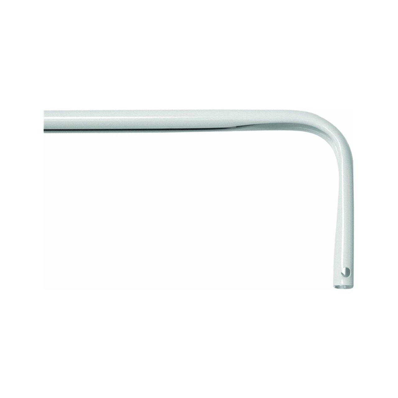 Levolor A7004213283 Heavy Duty Curtain Rod 26 To 45 Inch Width White New Fr Ebay
