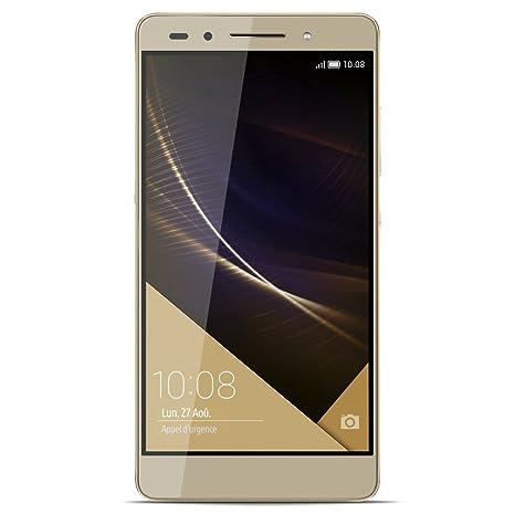 Honor 7 Premium Smartphone débloqué 4G (Ecran: 5.2 pouces - Double Nano-SIM - Android 5.0 Lollipop) Or