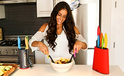 uplift kitchen utensil set by comfify includes solid
