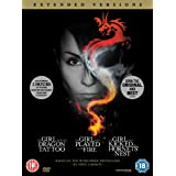The Girl with the Dragon Tattoo / The Girl who Played with Fire / The Girl who Kicked the Hornet's Nest  (Extended Versions) [DVD]by Noomi Rapace