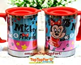 Japan Mickey Minnie Mouse 450 ml Stainless Steel Double Wall Insulated Thermos Mug Coffee Tea Cup