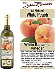 Traditional Barrel aged 12 years quotPeach White Balsamicquot 100 ALL NATURAL vinegar 375ml 125oz