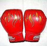 通気性 抜群 メッシュ 素材 練習 ボクシング グローブ 子供 こども ジュニア キッズ 用 レッド 赤