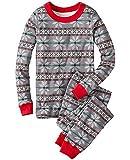 Christmas Unisex Adult Kid Family Pajamas Sets Snowflake Sleepwear Homewear Pajamas XMAS Gift (5T, Kids)