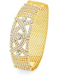Sukkhi Divine Gold Plated AD Kada For Women